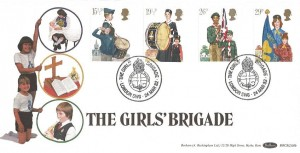 1982 Youth Organisations, Benham BOCS(2)10b Girls Brigade Official FDC, The Girls Brigade London SW6 H/S