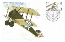 1968 British Anniversaries, Maxicard, RAF Escaping Society BF 1067 PS H/S.