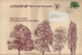 1973 British Trees The Oak, Longbow Tree Planting Guide FDC, Richmond & Twickenham FDI