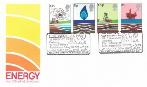 1978 Energy, Post Office FDC, Coal is Precious Celebrating 101 Year of Mining at South Leicester Colliery Ellistown Leicester H/S