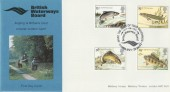 1983 British River Fish British Waterways Board Official FDC
