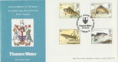 1983 British River Fish Thames Water Official FDC