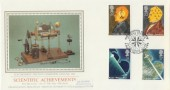 1991 Scientific Achievements Presentation Philatelic Services FDC Peter Runge House London
