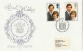 1981 Royal Wedding David Fletcher Special FDC. London EC H/S Scarce Cover Design