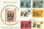 1973 Drake's Island Locals on Cotswold Drake's Drum FDC