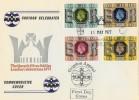 1977 Silver Jubilee Croydon Celebrates Queen's Silver Jubilee Official FDC
