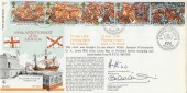 1988 Armada RFDC65 Official FDC 400th Anniversary of the Armada H/S