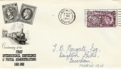 1963 Paris Postal Conference Ordinary PTS FDC. Norwich Addresses Need Post Codes Slogan