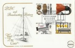 1972 BBC Cotswolds FDC Marconi's First Wireless Flatholm Island H/S