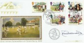1994 Summertime Benham BLCS98 Canterbury 1906 FDC. Signed by Derek Underwood