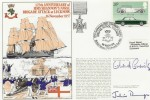 1982 125th Anniversary of the HMS Shannon's Naval Brigade Attack at Lucknow Cover. Signed