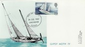 1967 Sir Francis Chichester Maximum Card. Chichester FDI