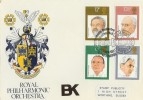 1980 Conductors Royal Philharmonic Orchestra BK Version of SP Official FDC