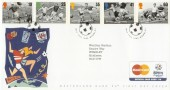 1996 Football Legends Wembley Mastercard Official FDC