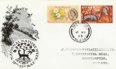 1963 Nature Week BPA / PTS FDC, Ordinary Set Selborne Alton cds