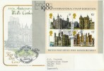 1978 Historic Buildings Miniature Sheet Cotswold Official FDC. Very Scarce