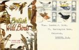 1966 British Birds Phosphor Set, with Southampton T Slogan Cancel