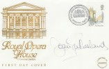 1980 Royal Opera House Covent Garden Official FDC, Signed by Dame Joan Sutherland