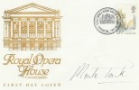 1980 Royal Opera House Covent Garden Official FDC, Signed by Dame Merle Park