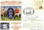 1996 Dawn FA Cup Final Cover, Liverpool v Man Utd, Signed by Alex Ferguson