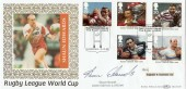 1995 Rugby League, Benham BLCS110, signed by Shaun Edwards