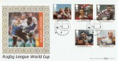 1995 Rugby League World Cup Benham BLCS110 Official FDC