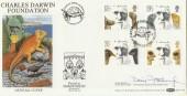 1982 Darwin, Benham BOCS(2)9 FDC, Signed by David Attenborough