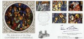 1992 Christmas, The Adoration of the Magi, Canterbury Cathedral, Benham BLCS79, Signed
