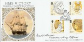 1993 Marine Timekeepers, HMS Victory, Benham BLCS82 Official FDC, Signed
