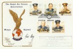 1986 RAF Cotswold Official FDC, Flown by Spitfire. Signed by Pilot Paul Day