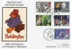 1996 Children's Television, Paddington Bear Westminster Official FDC