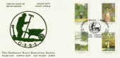 1983 British Gardens, The Gardeners' Royal Benevolent Society Official FDC