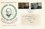 1965 Sir Winston Churchill, Connoisseur FDC, Dover Kent cds