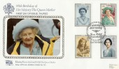 1990 Queen Mothers 90th Birthday, RNLI Thurso Pilgrim Official FDC