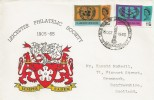 1965 United Nations International Co-operations Year, Leicester Philatelic Society Official FDC.