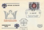 1977 Silver Jubilee, 9p Croydon Appeal Official FDC