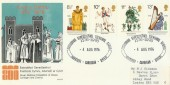 1976 Cultural Traditions, Cardigan Dyfed, Philart Official FDC. Scarce