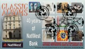 2010 Classics Albums, 40 years of Nat West Bank Official FDC, Royal Bank of Scotland Group Philatelic Society Lothbury EC2 H/S