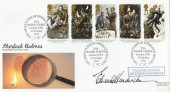 1993 Sherlock Holmes, Royal Mail FDC, 221a Baker Street NW1 H/S, Signed by Edward Hardwicke.