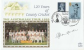 1993 Benham Australian Ashes Tour The Oval Cover. Signed by Alan Border Captain