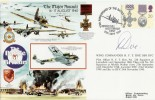 1990 50th Anniv. of the Battle Britain Biggin Hill FDC. Signed by Wing Cmdr. R F T Doe