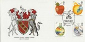 1987 Sir Isaac Newton, Weston Favell Upper School Silver Jubilee Official FDC, Signed