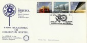 1983 Engineering, Radio Lollipop, Royal Children's Hospital, Bristol, Chippenham Rotary Official FDC