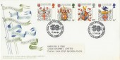 1984 Heraldry Harrison & Sons Stamp Printers Official FDC