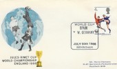 1966 World Cup, Spain v West Germany Match Cover, Birmingham H/S