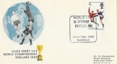 1966 World Cup, West Germany v Switzerland Match Cover, Sheffield H/S