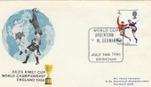 1966 World Cup, Argentina v West Germany Match Cover, Birmingham H/S