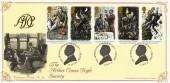 1993 Sherlock Holmes,  Arthur Conan Doyle Society, Bradbury Victorian Print Official FDC