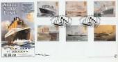 2004 Ocean Liners Bradbury Sovereign No.40. Signed by Millvina Dean