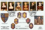 1997 The Great Tudor Henry VIII, GBFDC GB5 Official FDC